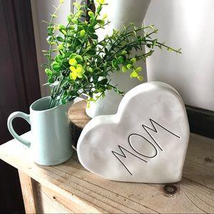 Rae Dunn Ceramic Heart Mom Gift